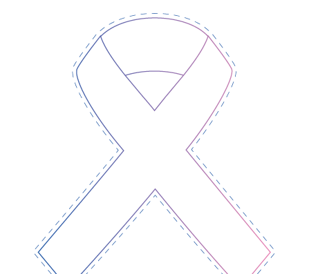 Colour-In-Ribbon-Template