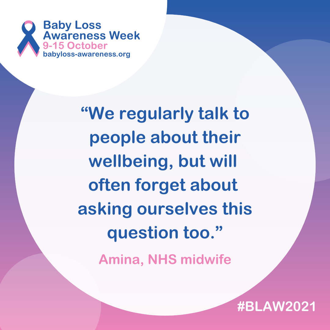 Amina, NHS midwife
