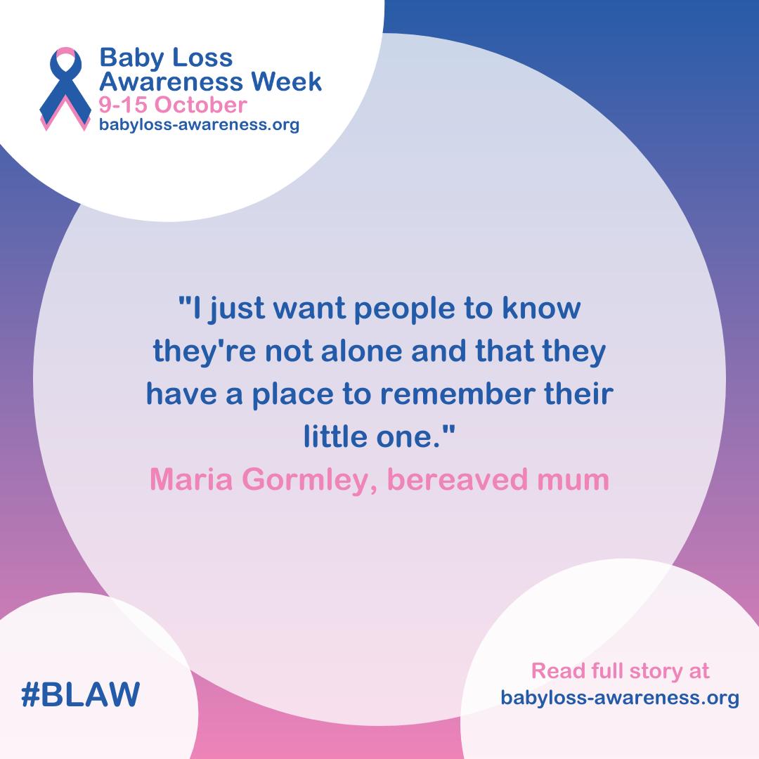 Maria Gormley's story