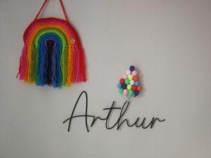 Leanne Bateson Arthur's wall