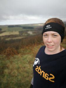 Leanne Bateson running